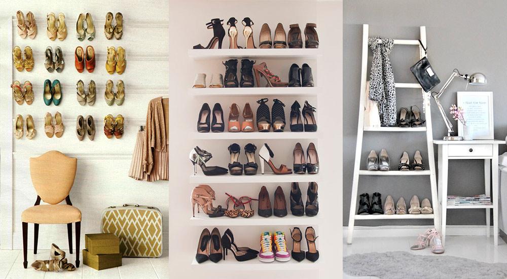Vertical Shoe Storage Ideas