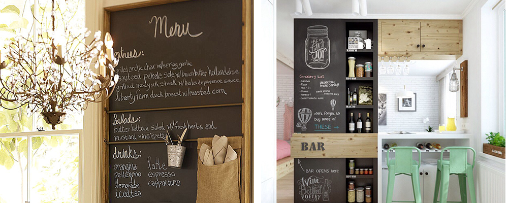 cafe chalkboard kitchen meal inspo inspiration