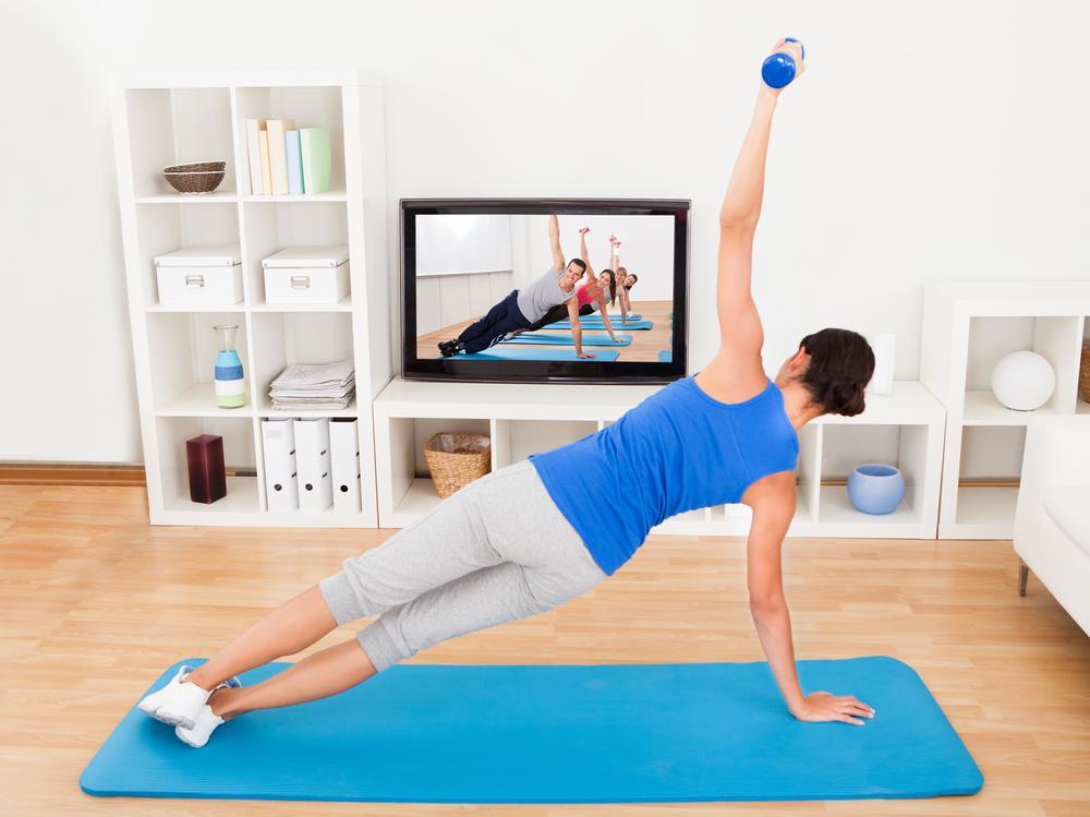 Занятия фитнесом в домашних условиях для начинающих видео
