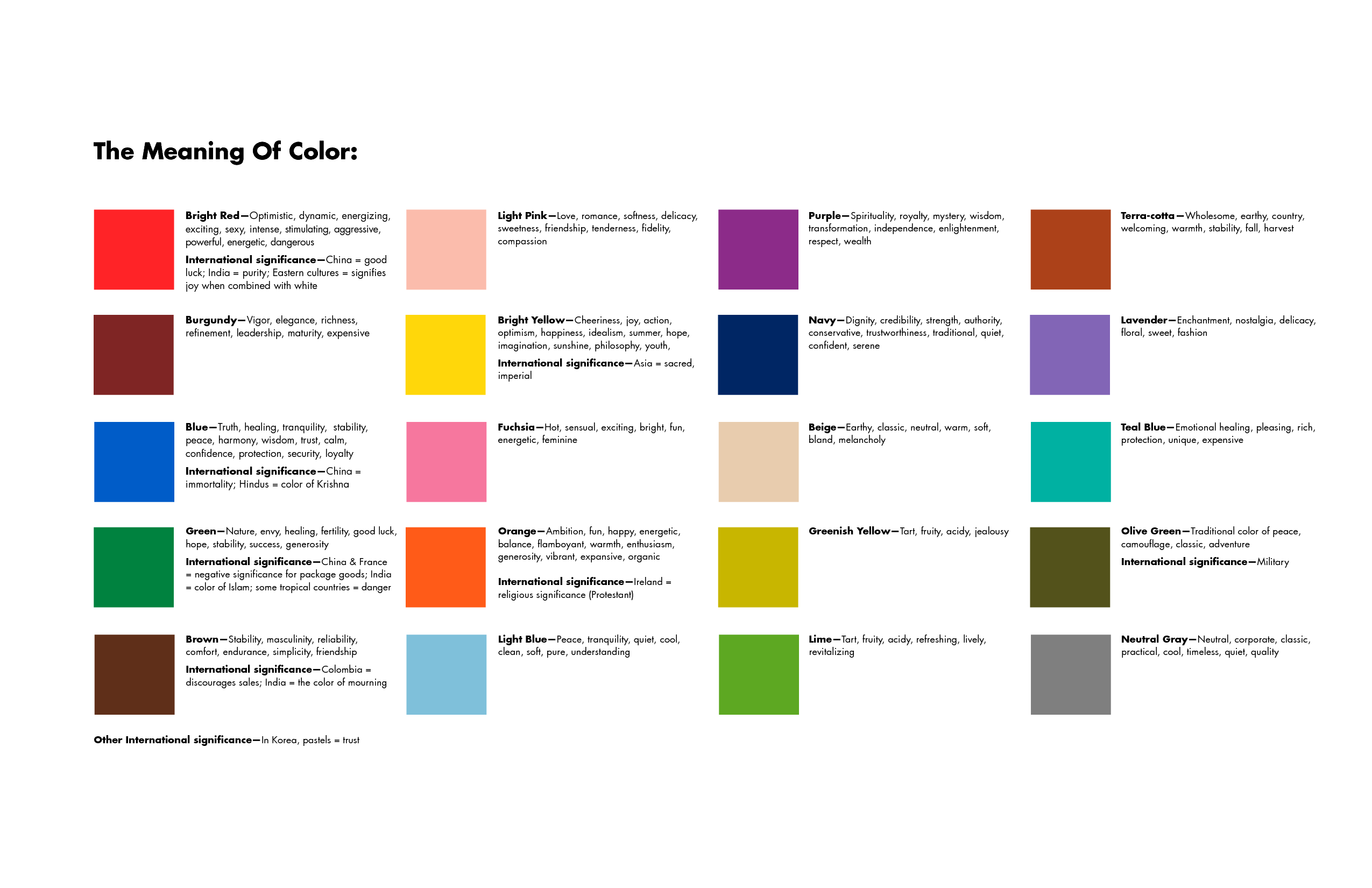 Mood Colors Meanings The Meaning Of The Colors Amazing The Spiritual Meaning Of Colors