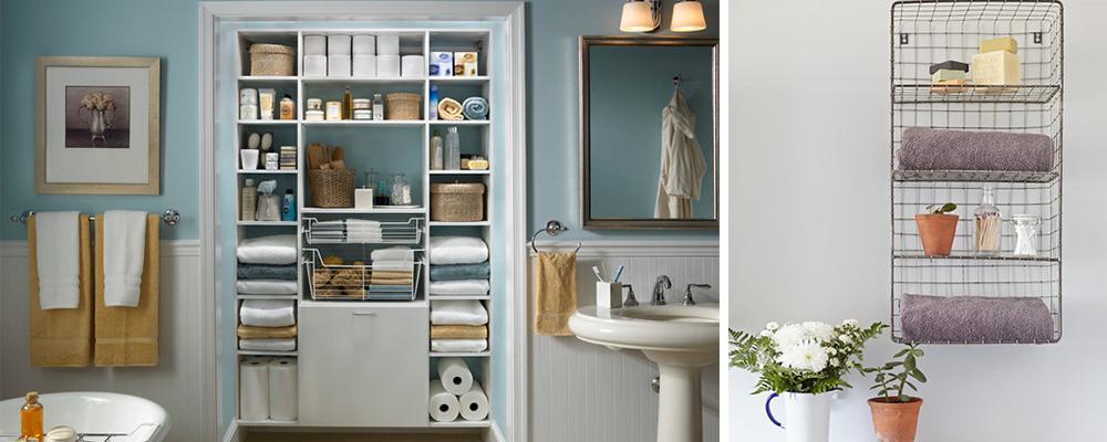 Small Designer Bathroom Storage Hacks Oneflare Blog